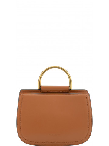Capucine | Gold bowler bag