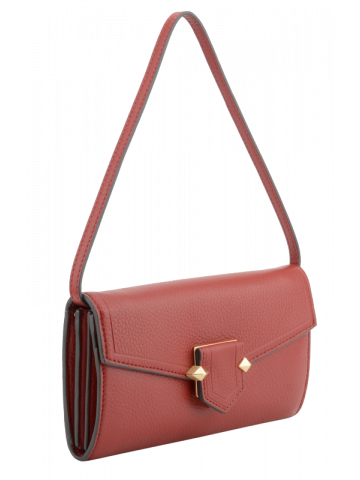 Sèvres | Dark red clutch bag