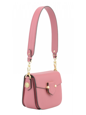 Sèvres | Dark pink flap bag