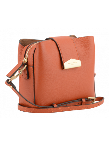 Cavalcade | Orange flap bag